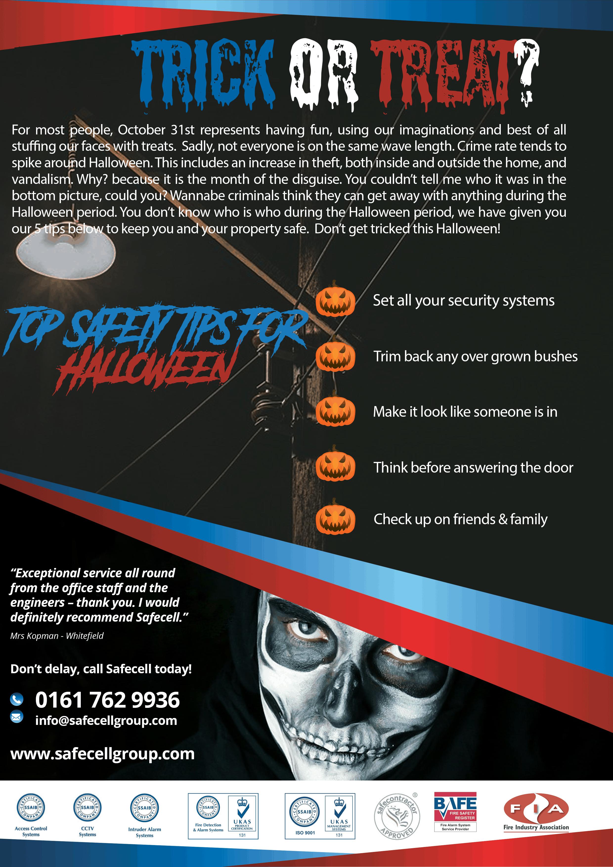Halloween Crime Safety Tips