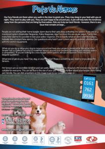 Pet Friendly Burglar Alarm Installation Manchester