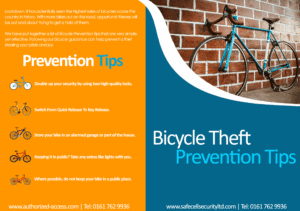 Bicycle theft prevention tips